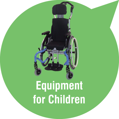 Powerchairs and wheelchairs for children