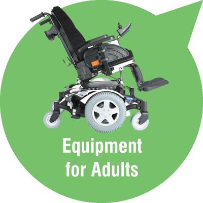 Powerchairs and wheelchairs for adults