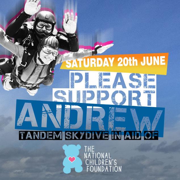 Andrew's Tandem Skydive