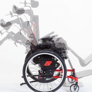 SWINGBO-VTi XL, different seat angles