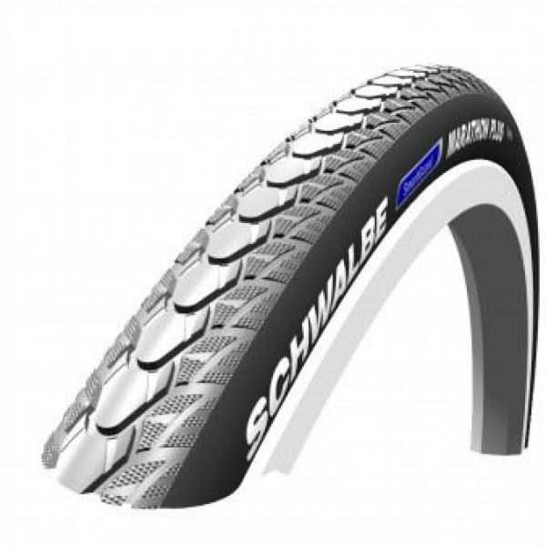 Schwalbe Grey Marathon Plus Tyre 26 X 1 (25-590)