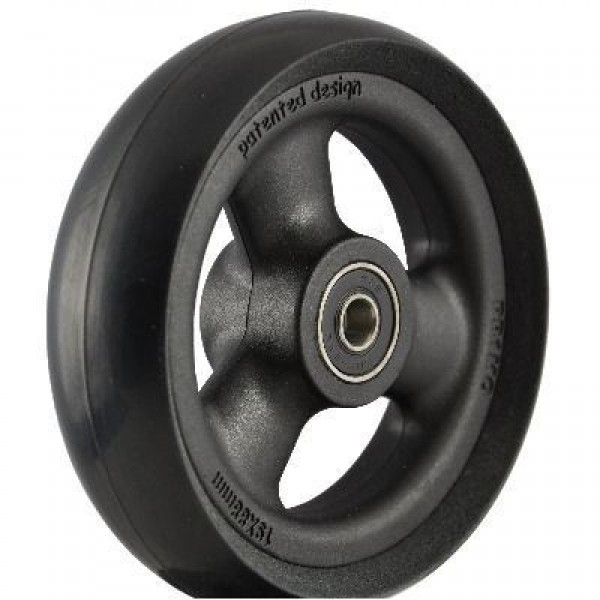 PR1MO 4 1/4″ (109 X 30mm) Black Wheel & Black Tyre
