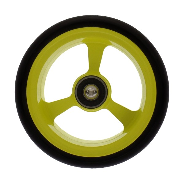 Frog Legs 4 X 1.4″ Powder Coated Castor Wheel Yellow