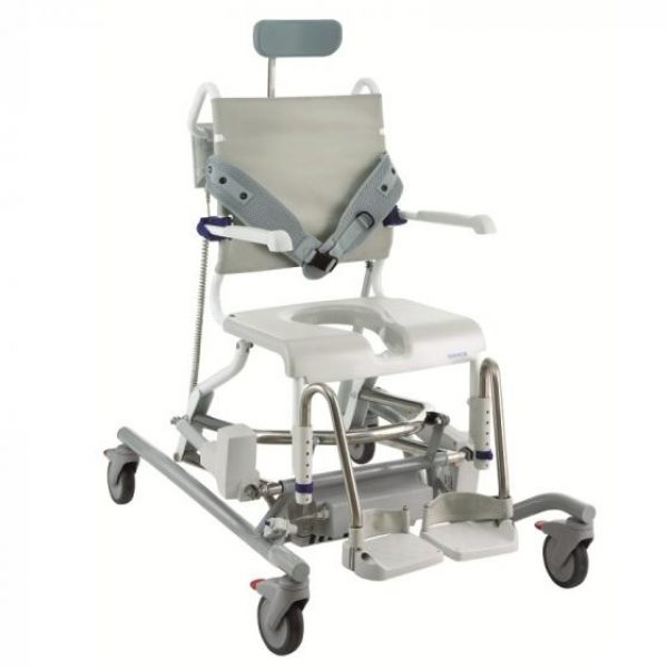 Invacare AQUATEC OCEAN E-VIP Shower Chair Commode