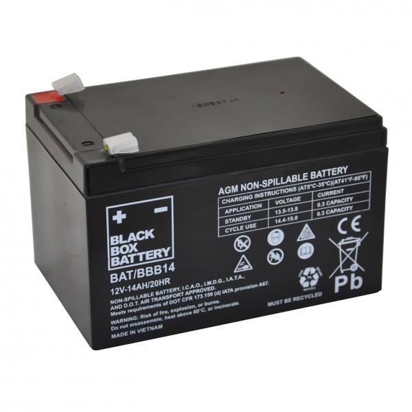 14Ah Black Box AGM Battery