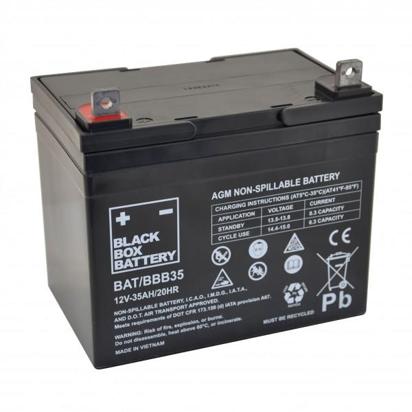 35Ah Black Box AGM Battery