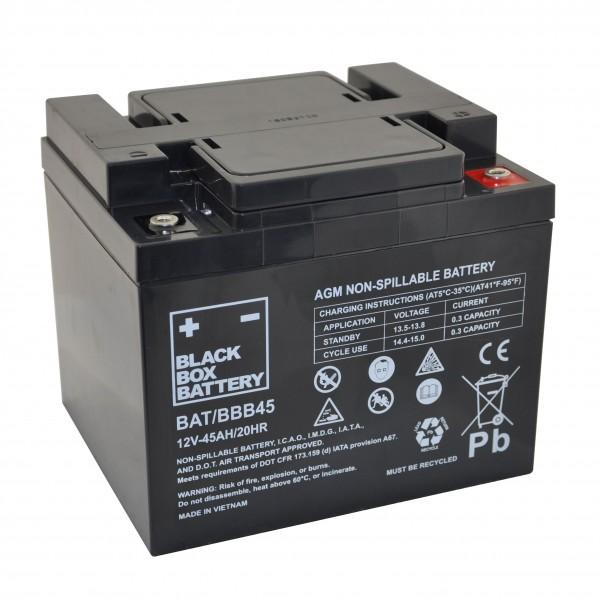 45Ah Black Box AGM Battery