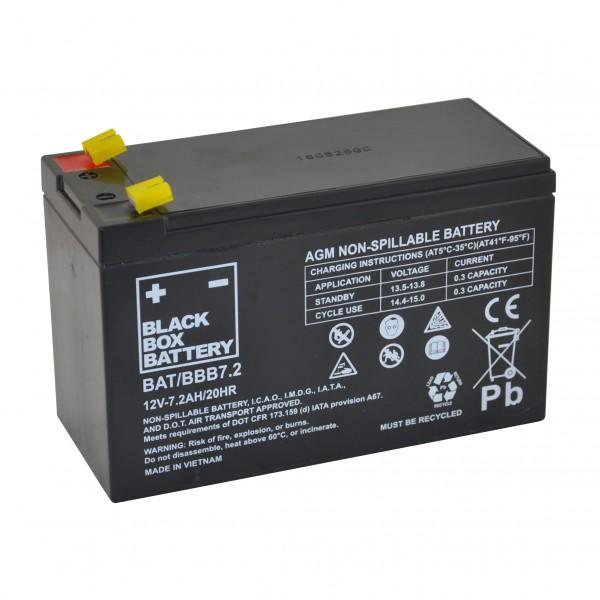 7.2Ah Black Box AGM Battery