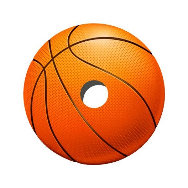 Basketball Decal Spoke Protector