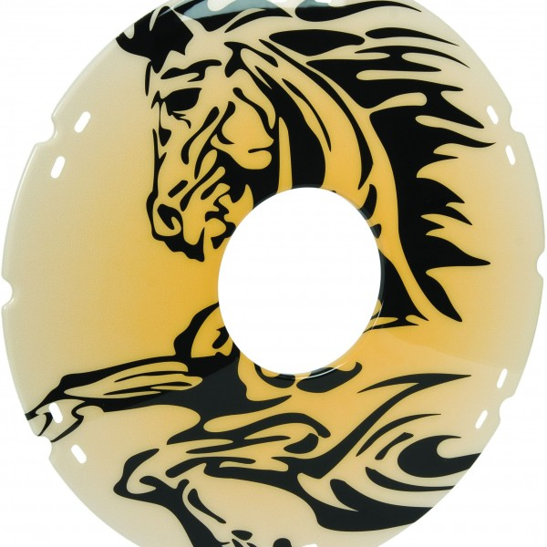 20″/ 22″/ 24″ Stallion Decal Wheelchair Spoke Protector (Pair)