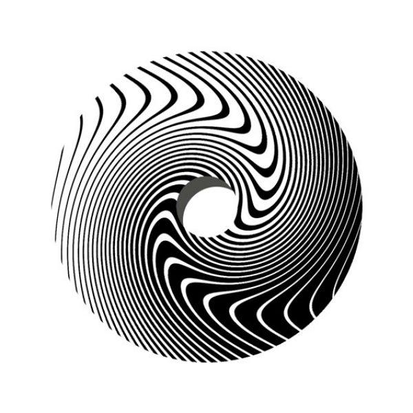 Black & White Swirl Decal Spoke Protector