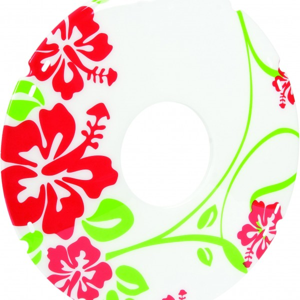 20″/ 22″/ 24″ Flower Decal Wheelchair Spoke Protector (Pair)