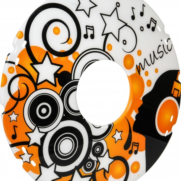 20″/ 22″/ 24″ Music Decal Wheelchair Spoke Protector (Pair)