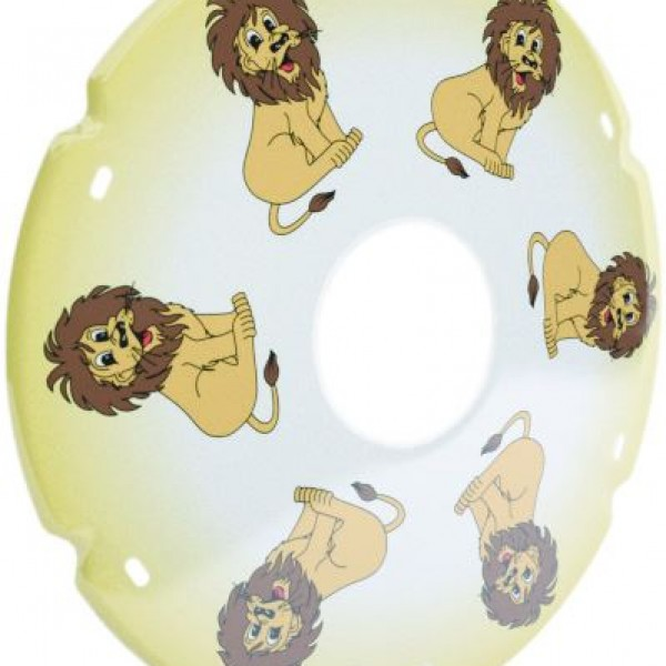 20″/ 22″/ 24″ Lion Decal Spoke Protector (Pair)