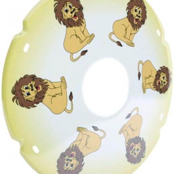 20″/ 22″/ 24″ Lion Decal Wheelchair Spoke Protector (Pair)