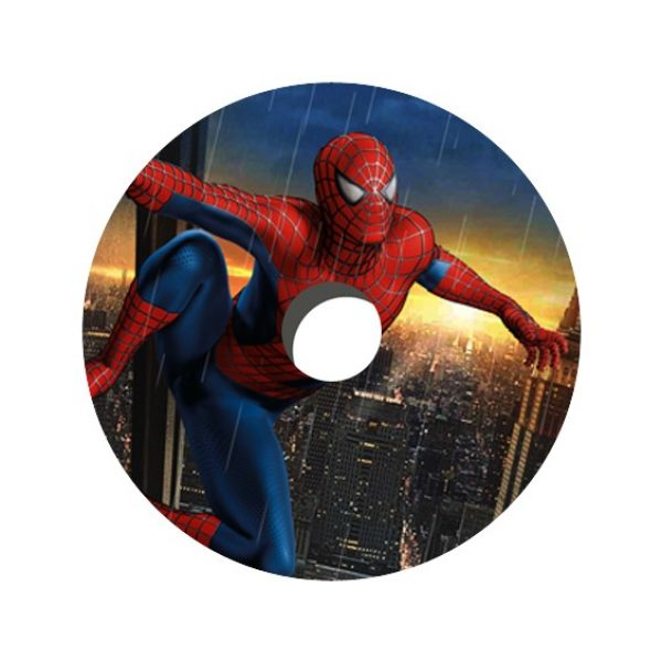Spiderman Decal Spoke Protector