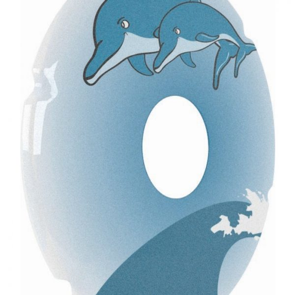 Dolphin Decal Spoke Protector