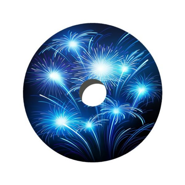 Fireworks Decal Spoke Protector