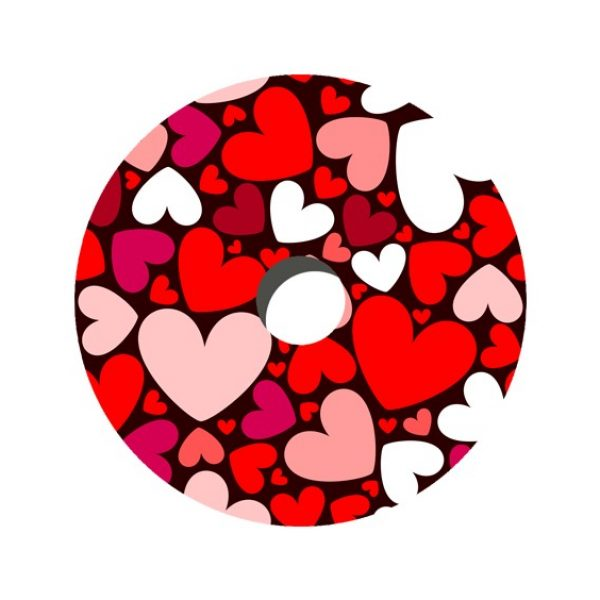 Hearts Decal Spoke Protector
