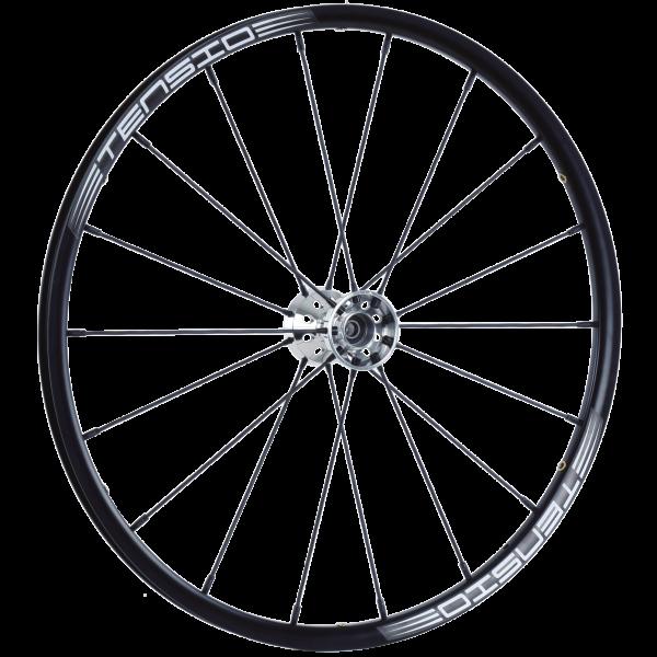 24″ Standard Tensio Wheel Black Spokes