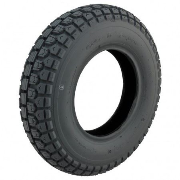 CST Grey Block Tyre 400 X 8