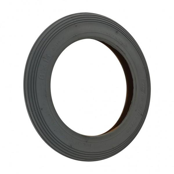 CST Grey Rib Tyre 8 X 1 1/4