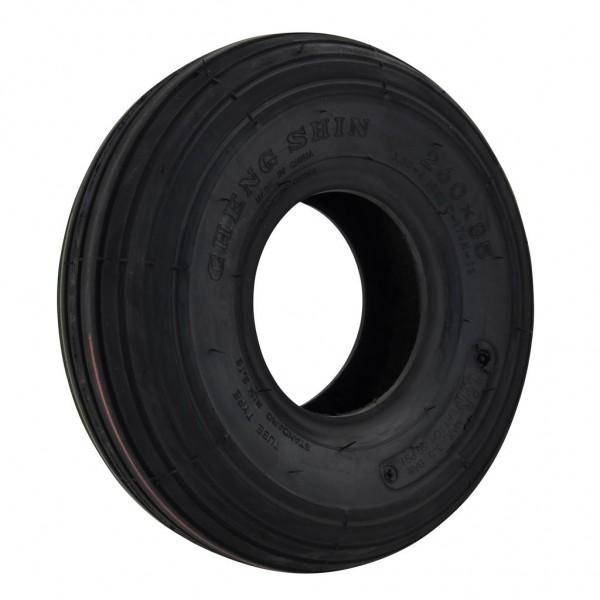 CST 300 X 4 Black Rib Tyre