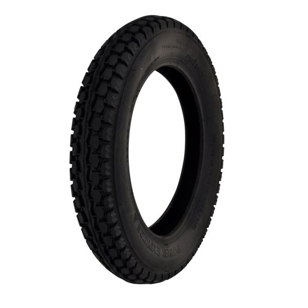 CST 12 1/2 X 2 1/4 Black Heavy Duty Block Tyre