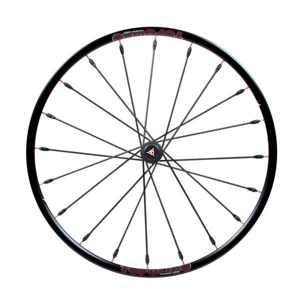 24″ Topolino Wheel Red (Narrow Hub)