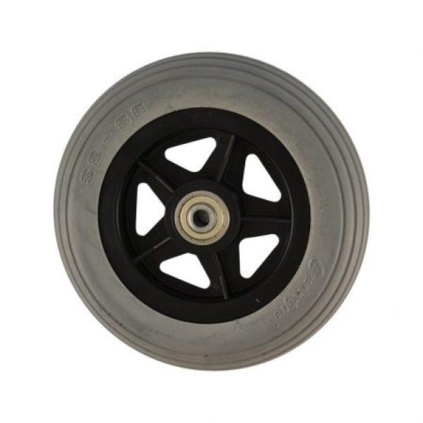 6 X 1 1/4 Grey Cub Tyre & Black Wheel