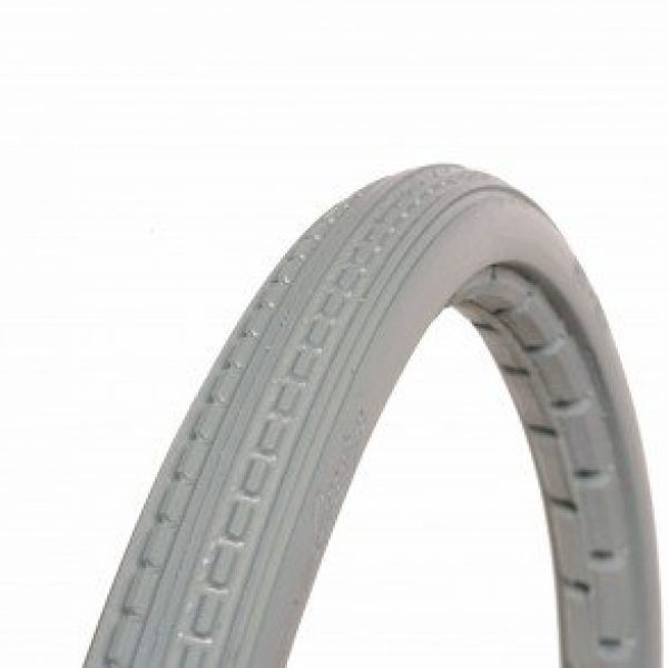 24 X 1 3/8 Grey Mobility Tyre
