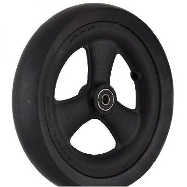 PR1MO 8″ (200 X 28mm) Black Wheel & Black Tyre