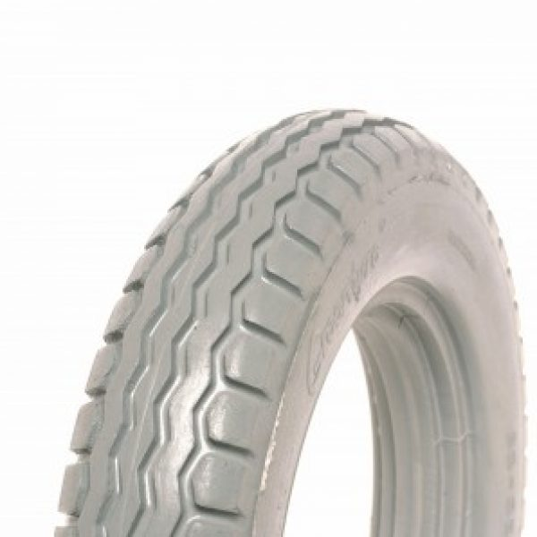 12 1/2 X 2 1/4 Grey Electric Tyre (26-28mm) (Sunrise Type)