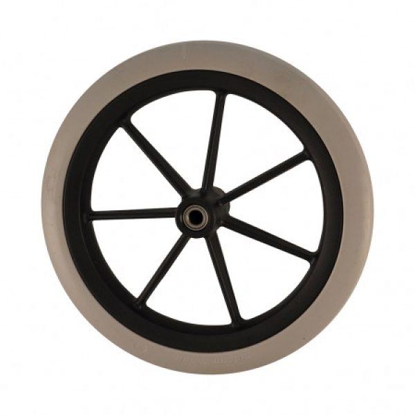 Colson 200mm UltralightNarrow Profile Wheel & Tyre (Black)
