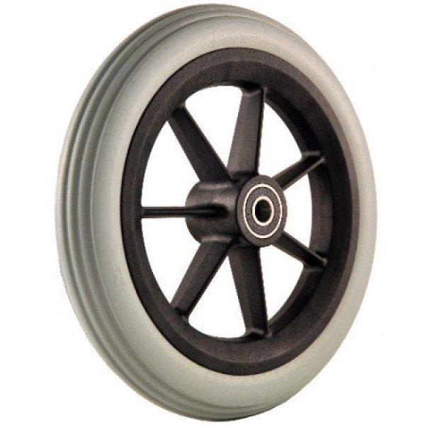 200mm Black Castor Wheel & Grey Tyre