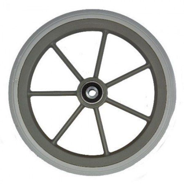 190 X 29mm Grey Castor Wheel & Tyre