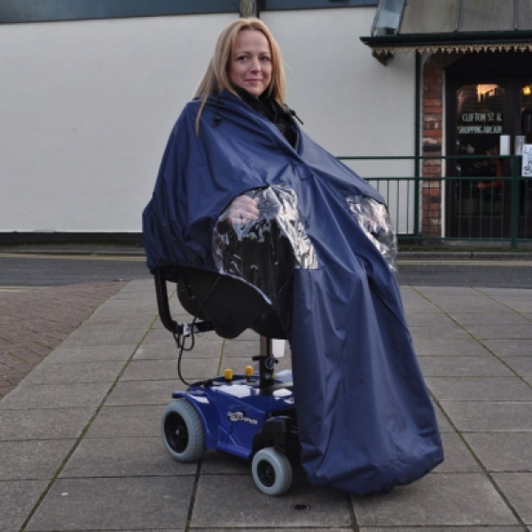 Splash Powerchair Cape (lined)