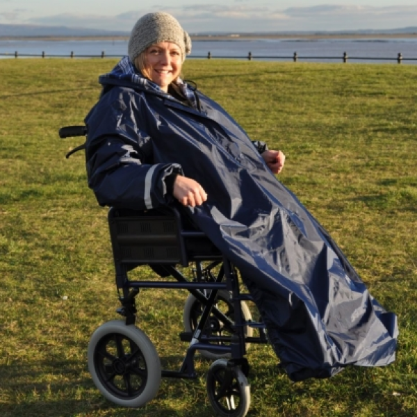Splash Wheelchair Mac (with sleeves)