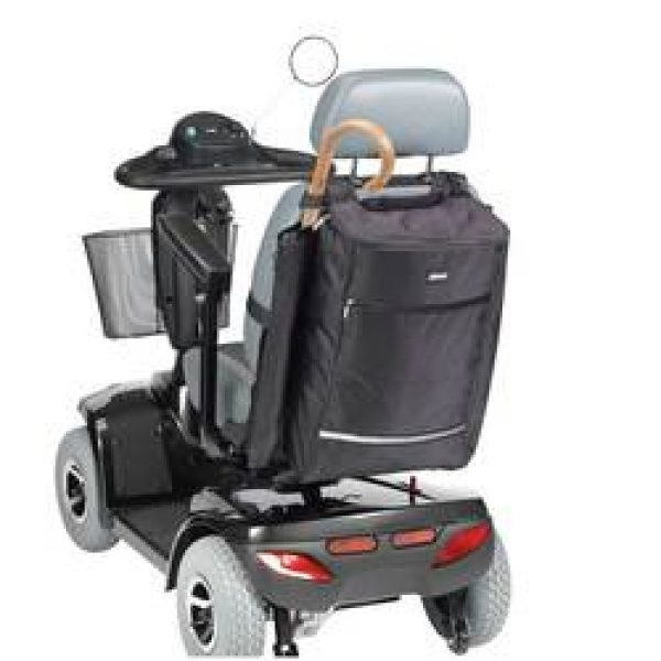 Mobility Bag with Crutch / Walking Stick Holder