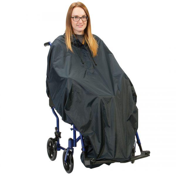 Elasticated Hem Wheelchair Poncho