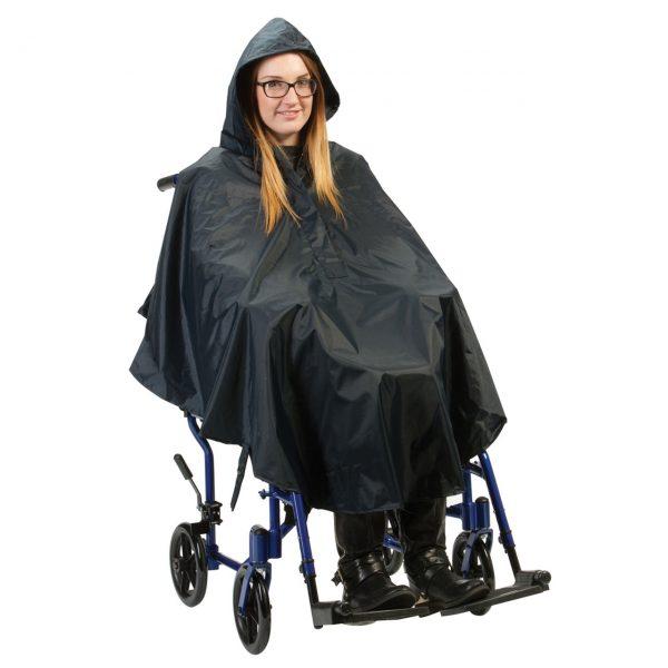 Wheelchair Flat Hem Poncho
