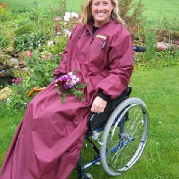 Wheelchair Winchester Mac with Sleeves