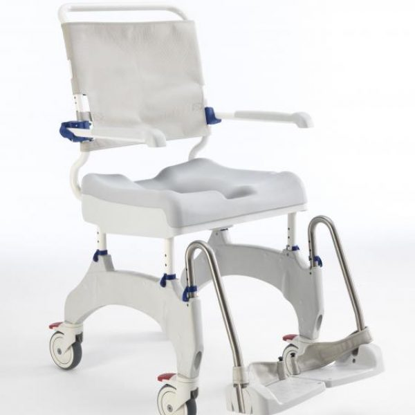 AQUATEC OCEAN ERGO Shower Chair Commode